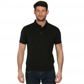 Cls Cotton Polo Black