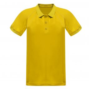 Coolweave Polo Shirt Bright Yello