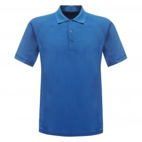 Coolweave Polo Shirt Oxford Blue