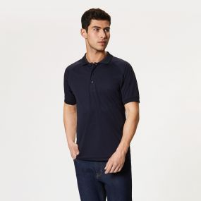Coolweave Polo Shirt Navy