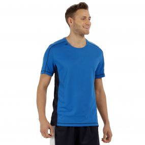 Men's Beijing Lightweight Cool and Dry Sports T-Shirt Oxford Blue Navy