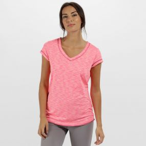 Women's Ashrama Quick Dry Sports T-Shirt Vivid Viola