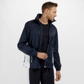 Men's Moscow Waterproof Shell Jacket Navy/White