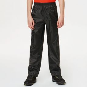 Kids Stormbreak Waterproof Overtrousers Black