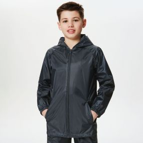 Kids Pro Stormbreak Shell Waterproof Jacket Navy