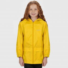 Kids Stormbreak Waterproof Jacket Lifeguard Yellow
