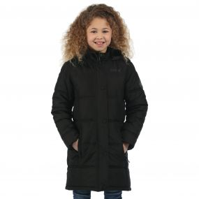 Girls Winter Hill Jacket Black