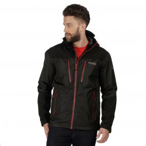 Mens Cross Penine Jacket Black