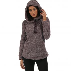 Kizmit Hooded Fleece Blackberry Wine