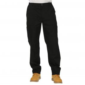 Mens Action Trousers Black