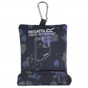 Packable Tote Bag Fauna Navy