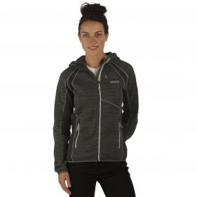 Willowbrook III Hooded Fleece Seal Grey