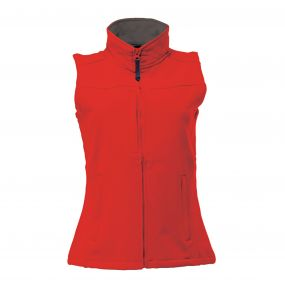 Women's Flux Bodywarmer Classic Red