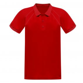 Coolweave Polo Shirt Classic Red