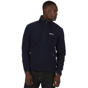 Stanton II Mid Weight Full Zip Fleece Navy Seal Grey