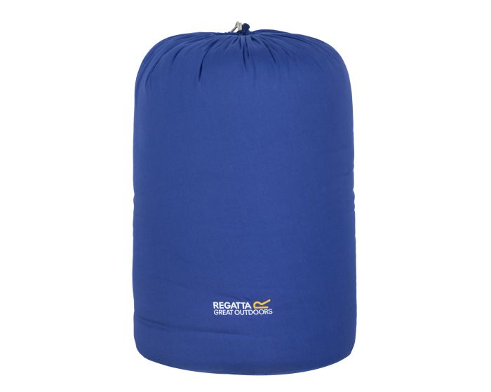 Bienna Cotton Lined Double Sleeping Bag Laser Blue