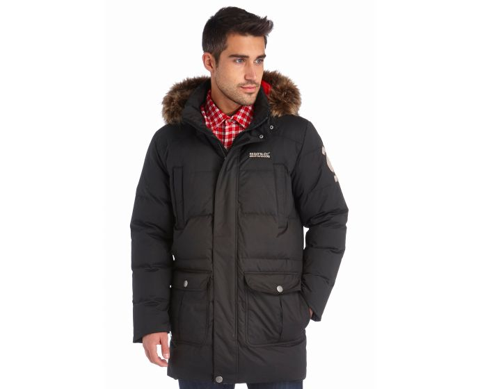 Andram Parka Jacket Black | Regatta | Regatta - Great Outdoors