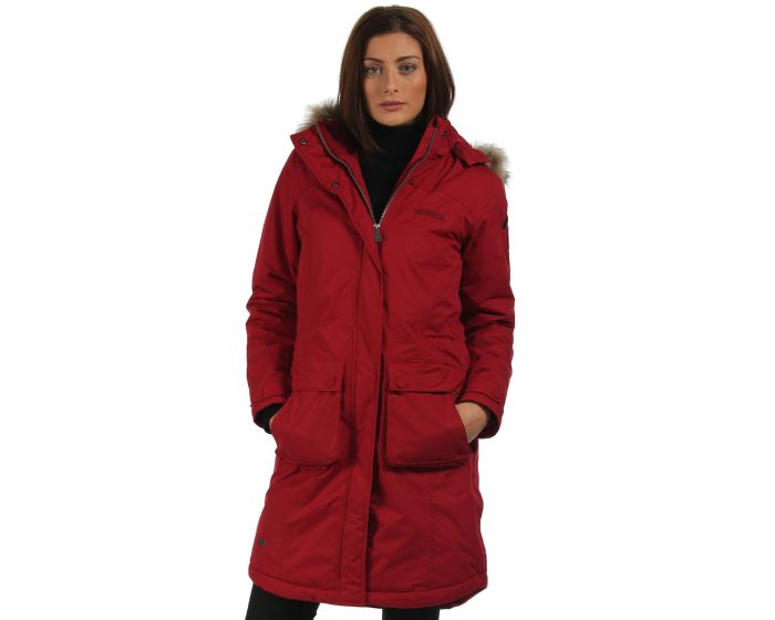 Lumexia Parka Jacket Rhubarb Red | Regatta | Regatta - Great Outdoors