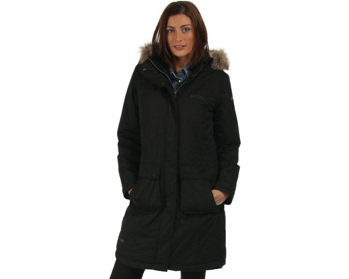 Lumexia Parka Jacket Black | Regatta | Regatta - Great Outdoors