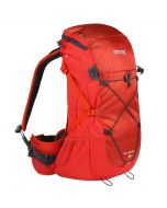 Blackfell II 35 Litre Hydration Backpack Rucksack Pocket Amber Glow Ebony